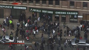 Baltimore riots in April 2015
